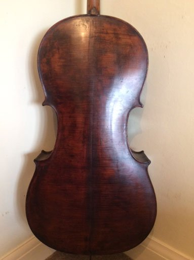 Early to mid 19th century Saxon full size Cello